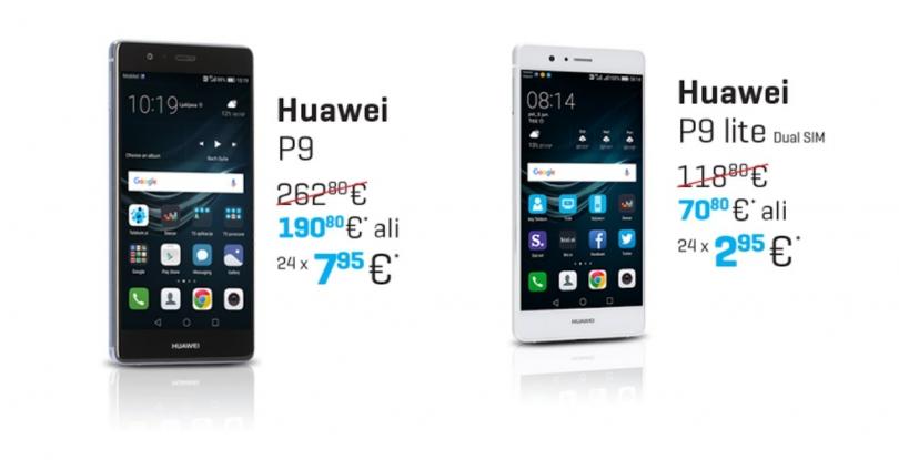 Huawei P9 in Huawei P9 Lite